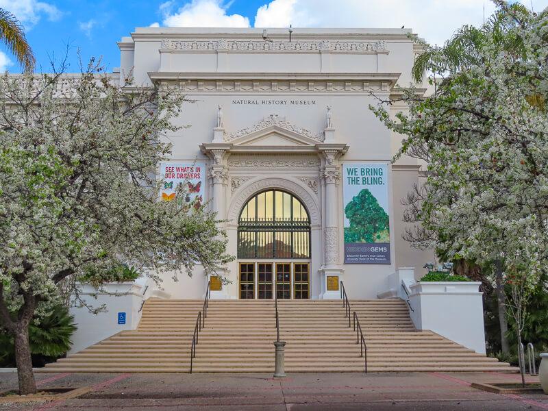 Natural History Museum Balboa Park San Diego California USA