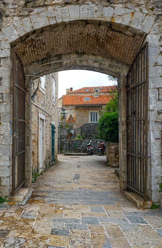 Old Town Budva Gate, Budva, Montenegro