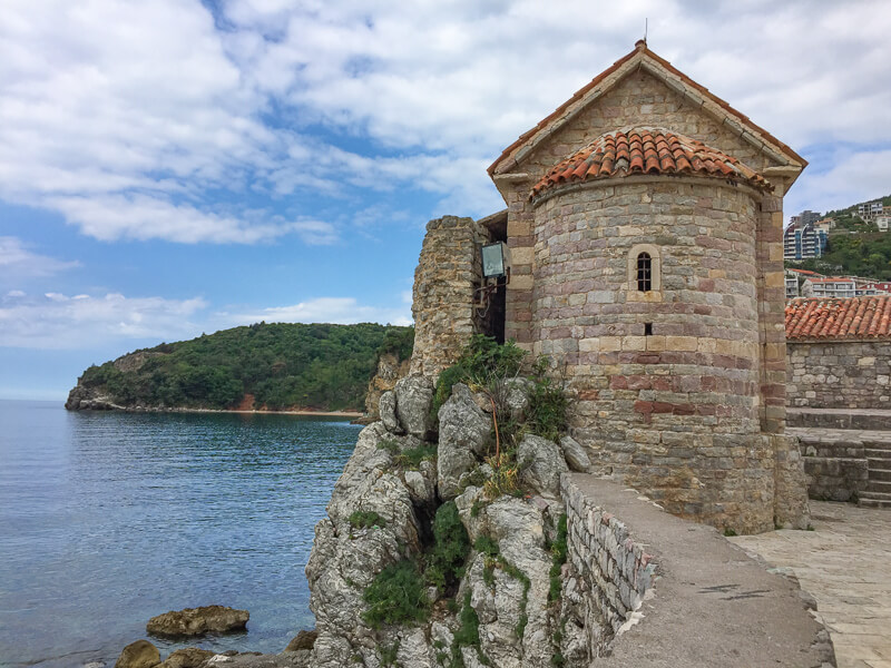 Old Town in Budva, Montenegro