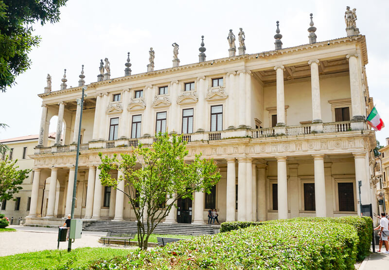 Palazzo Chiericati Vicenza Italy