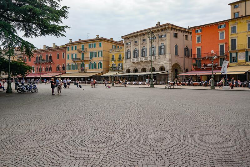 Piazza Bra Verona Italy