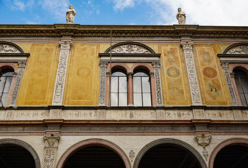 Piazza dei Signori in Verona Italy