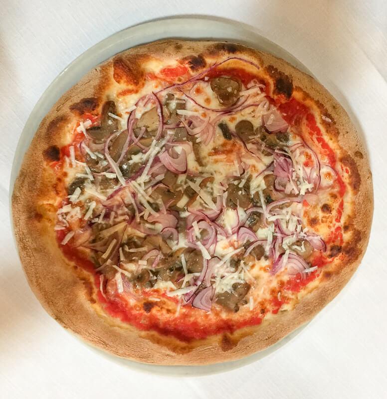 Pizza at Santa Felicita Verona Italy