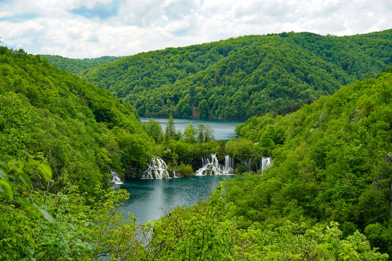 Plitvice Lakes NP in Croatia is a great day trip from Zadar