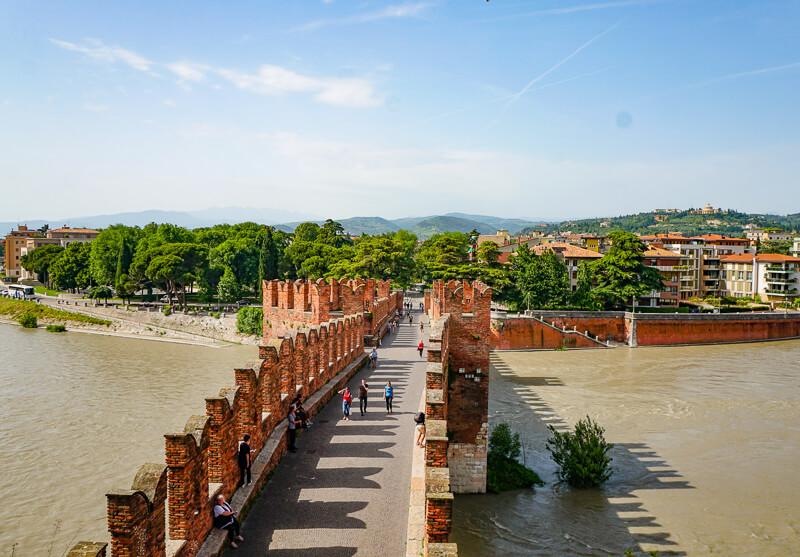 Ponte Castevecchio Verona Italy