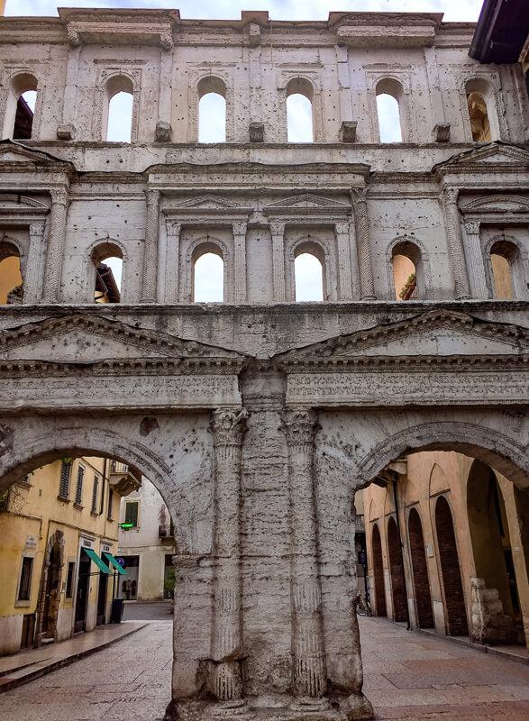 Porta Borsari Verona Italy