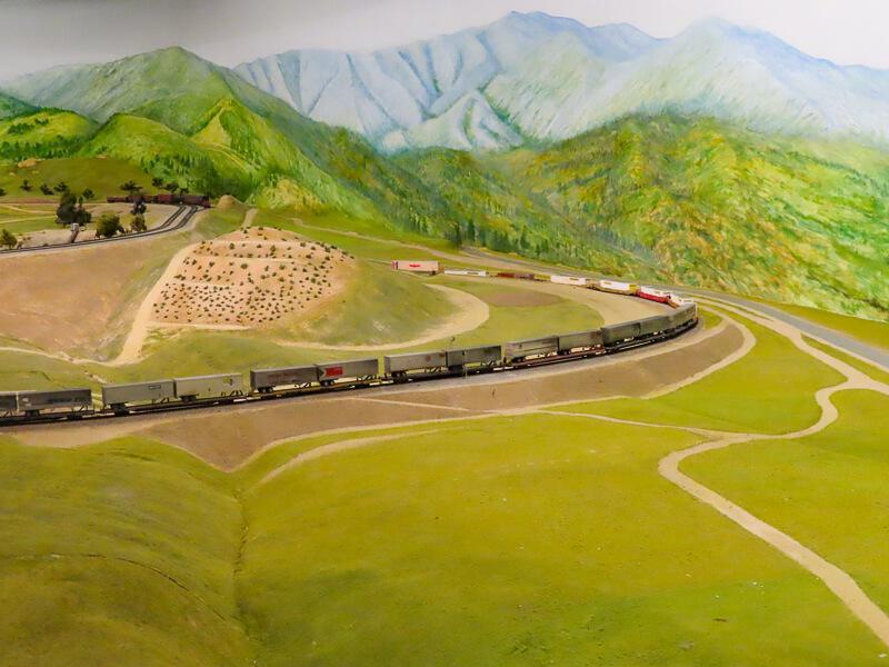 Railroad Museum San Diego California USA