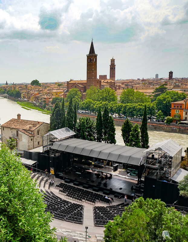 Roman Theater Verona Italy