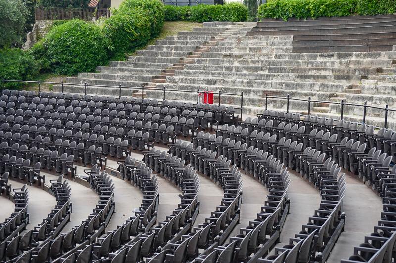 Roman Theater in Verona Italy