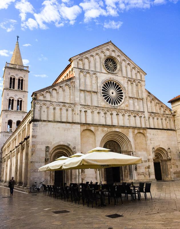 Saint Anastasia Cathedral Zadar Croatia