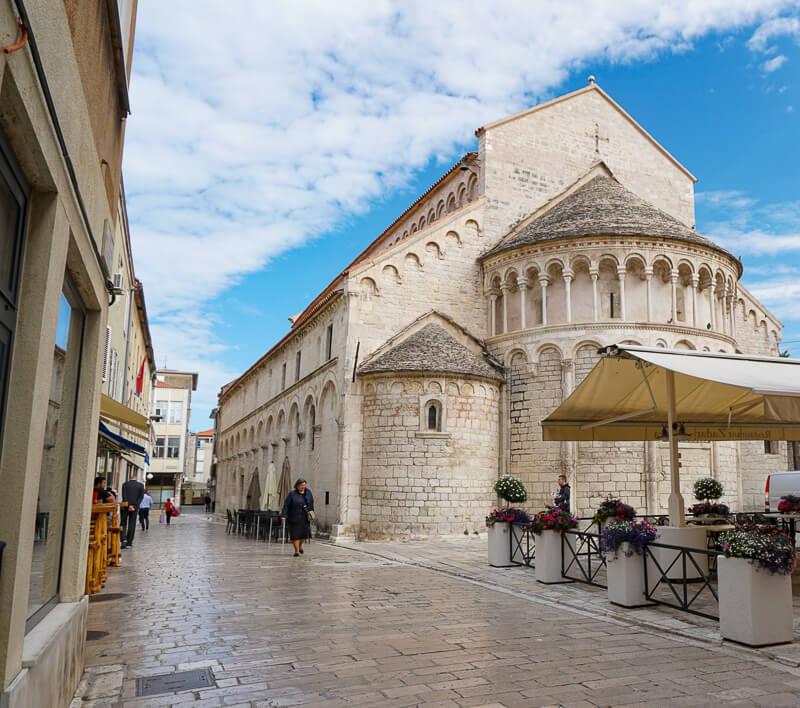 Saint Chrysogonus Church Zadar Croatia