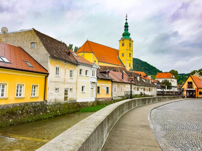 Samobor Croatia is a fun day trip from Zagreb!