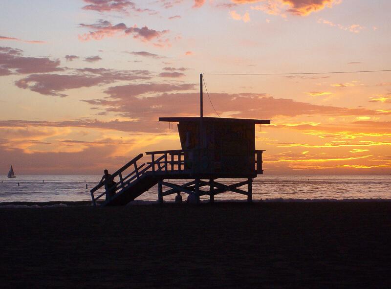 Santa Monica Beach California USA