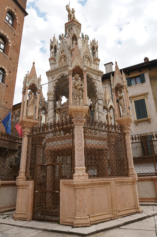 Scaliger Tombs Verona Italy