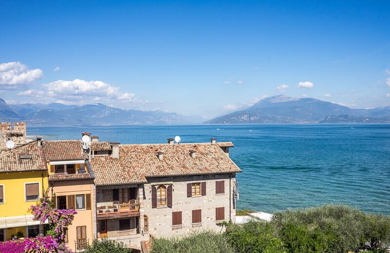 Sirmione on Lake Garda in Italy