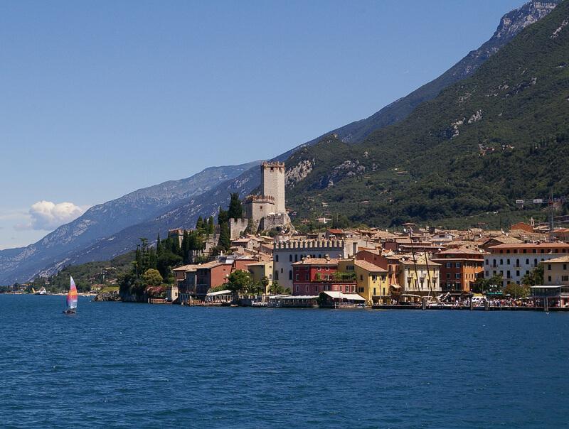 Sirmione Lake Garda Italy