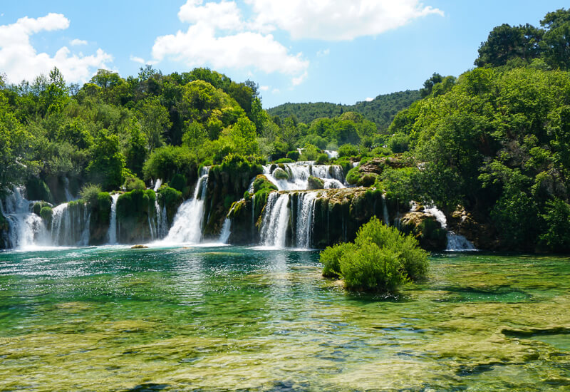 Skradinski Buk Krka NP Croatia