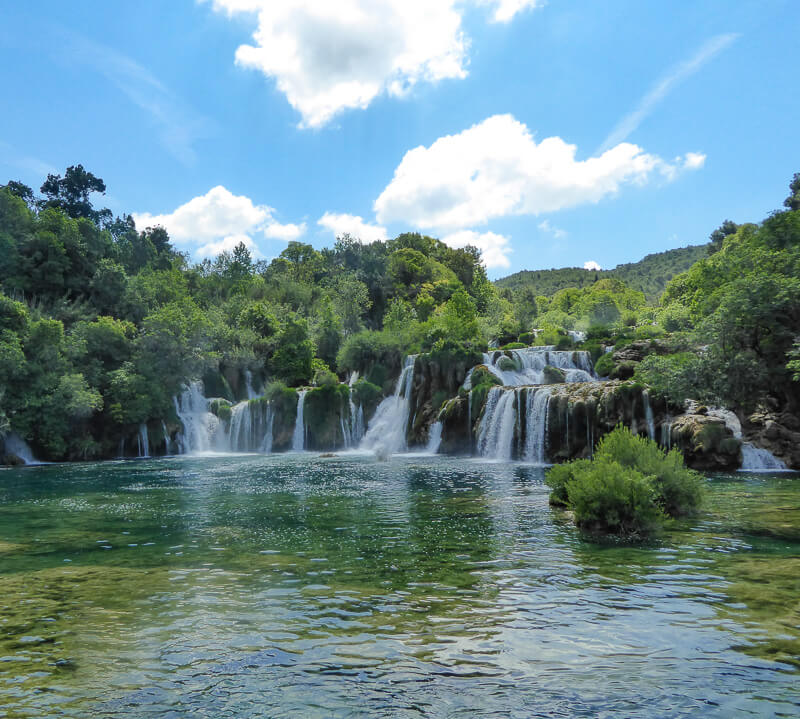 Skradinski Waterfall Krka National Park Croatia