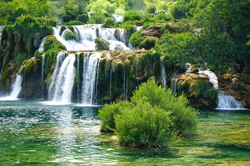 Skradinski buk Krka National Park Croatia