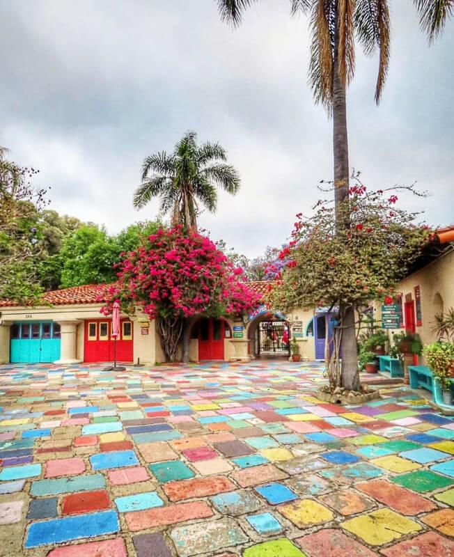 Spanish Village Balboa Park San Diego California USA