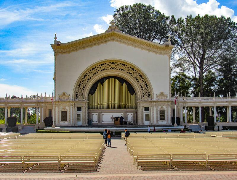 Spreckels Organ Pavilion Balboa Park San Diego California USA