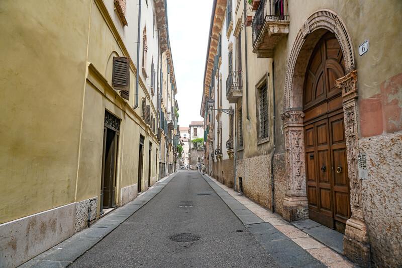 Street in Verona, Italy