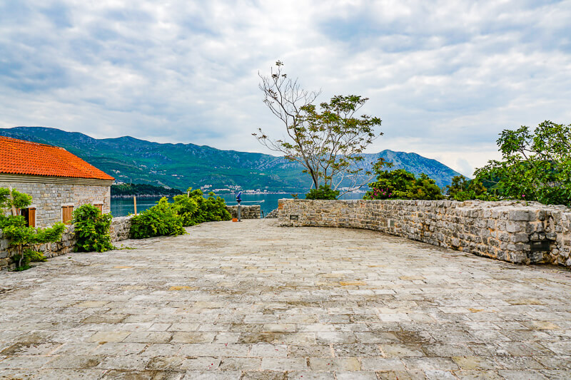 Terrace Citadela Budva Montenegro