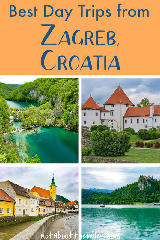 From Plitvice Lakes National Park to Lake Bled in Slovenia and charming Baroque towns, discover the best day trips from Zagreb to add to your itinerary!