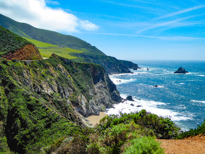 The Big Sur Coast California USA