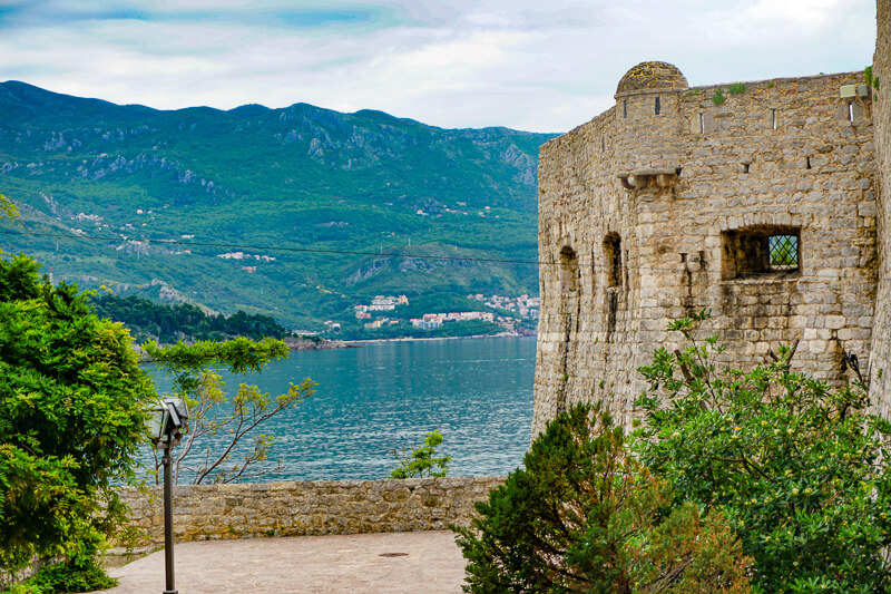 The Citadel in Old Town Budva Montenegro