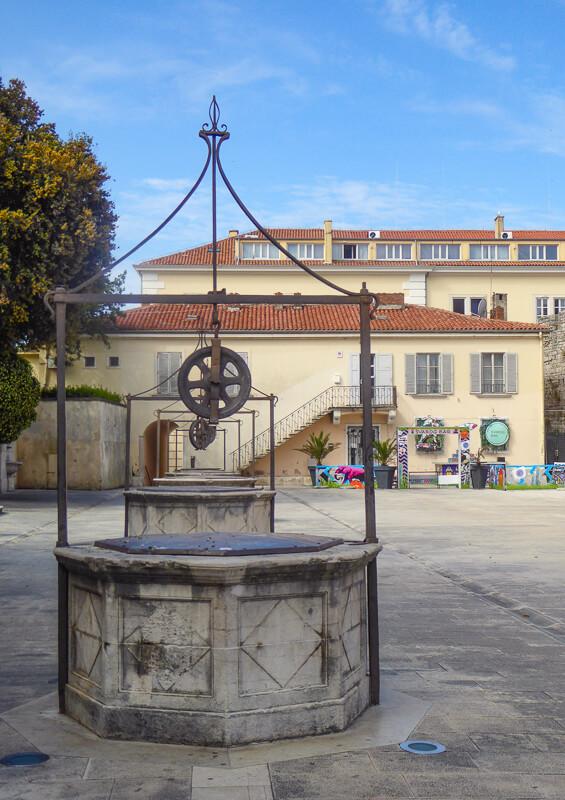 Trg Pet Bunara Zadar Croatia