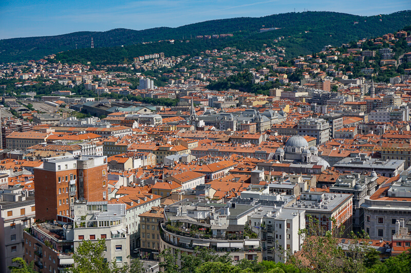 A view of Trieste Italy