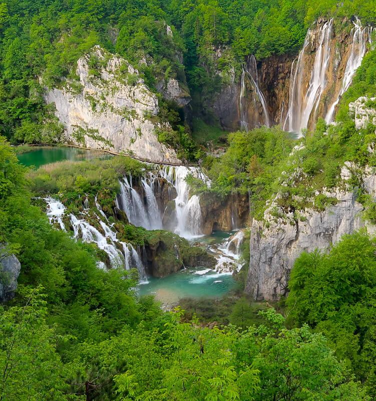Veliki Slap Plitvice Lakes Croatia