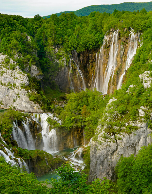 Veliki Slap Plitvice Lakes National Park Croatia