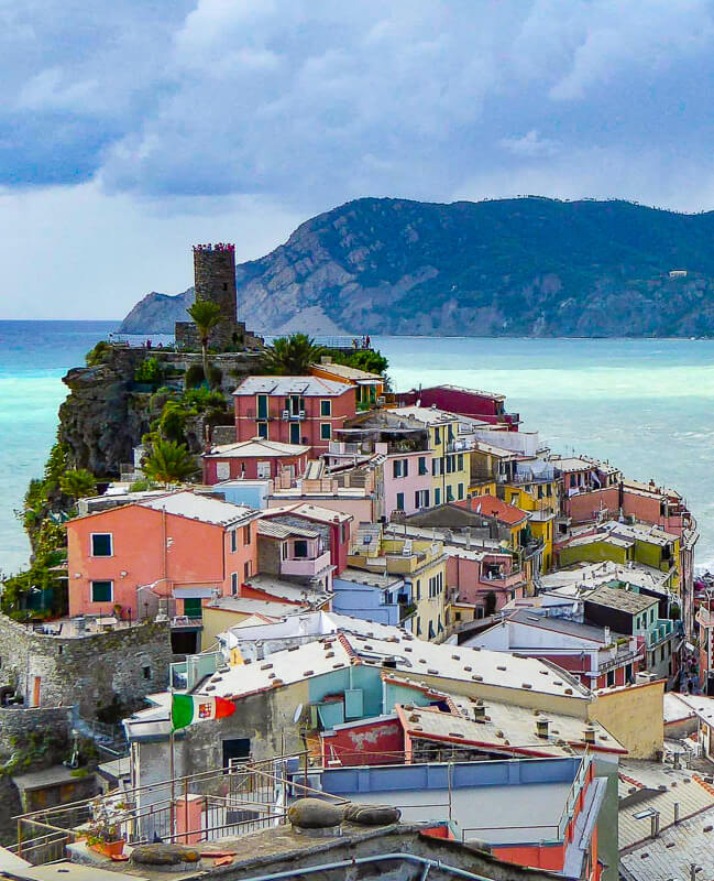 Vernazza in Liguria, Italy