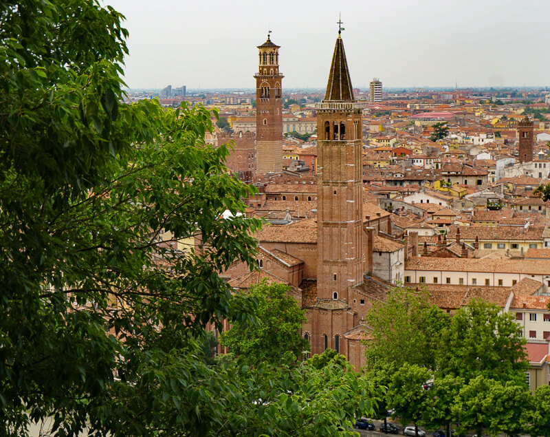Verona in Northern Italy