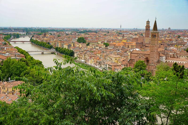 Verona in Veneto Italy