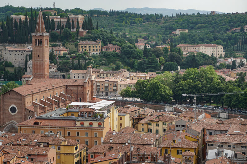 View of Verona from Lamberti Tow