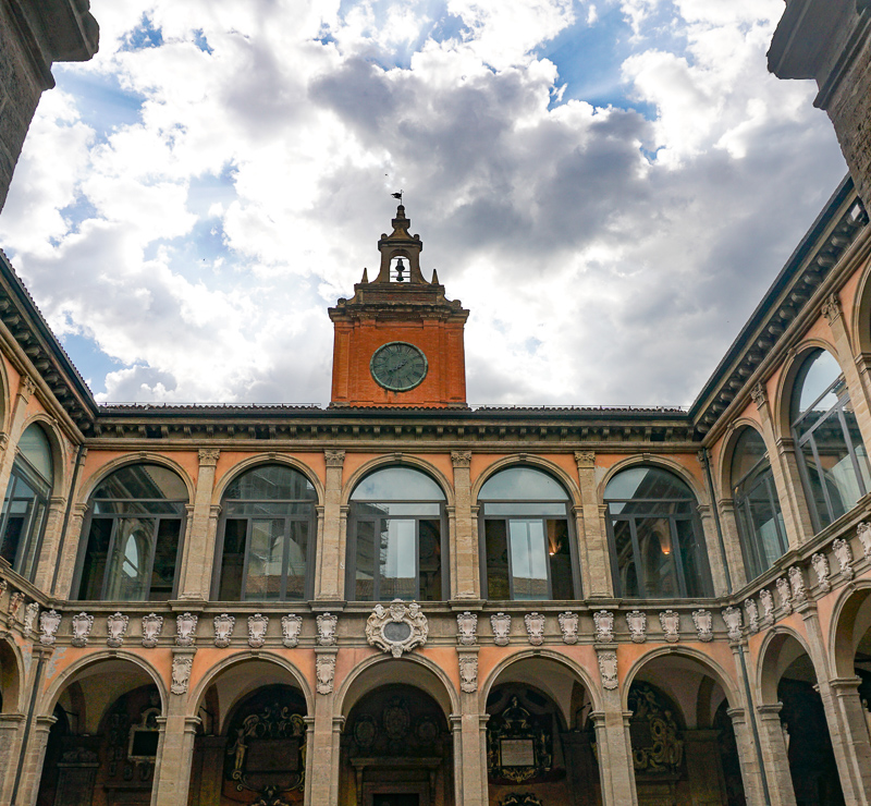 Archiginnasio Bologna Italy