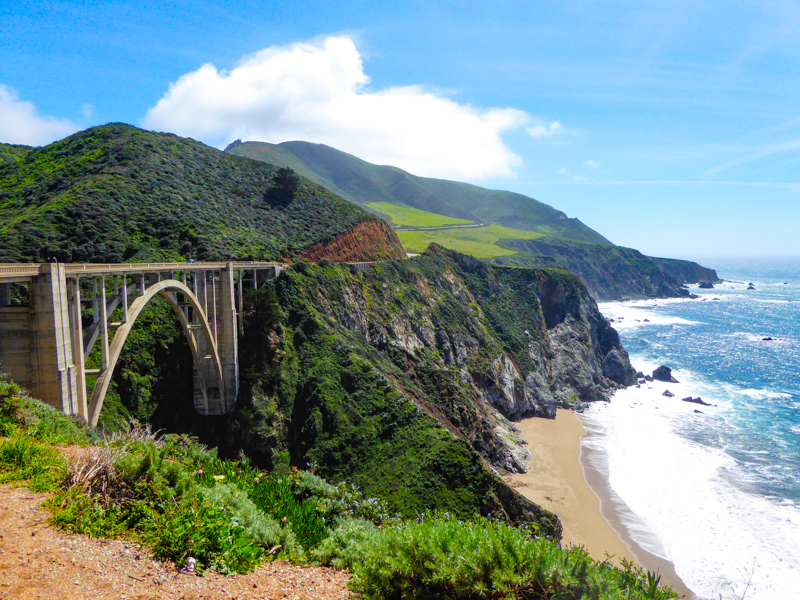 Bixby Creek Bridge Big Sur California USA