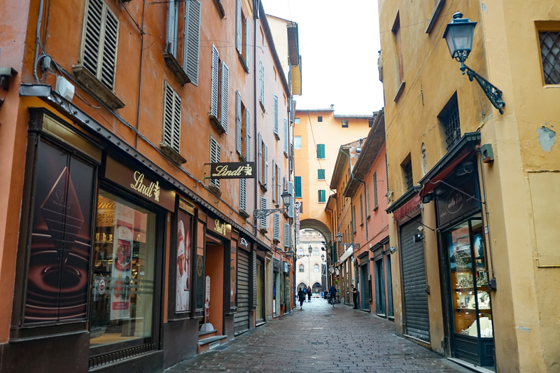 Bologna Italy Historic Center