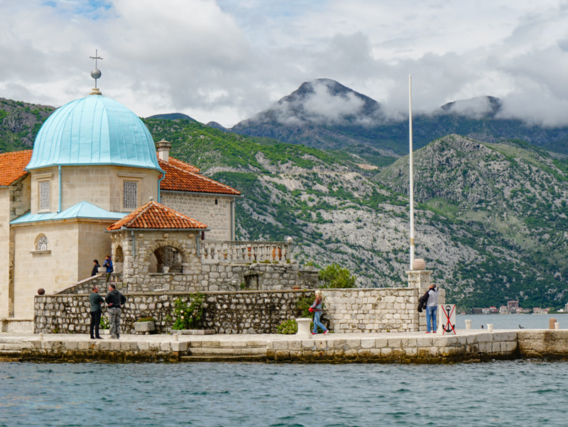 Church Our Lady of Rocks Perast Montenegro