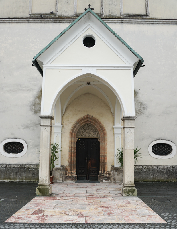 Church of St. Jacob Entrance in Skofja Loka