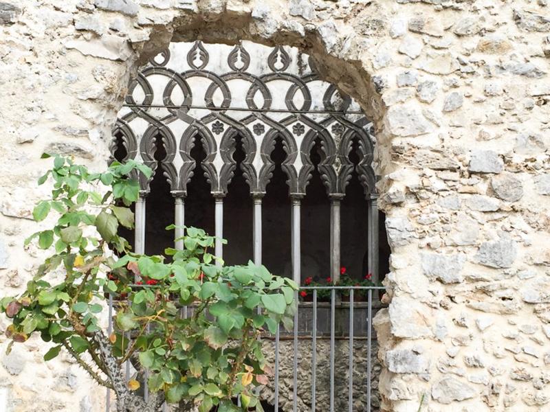 Cloister Villa Rufolo Ravello Italy