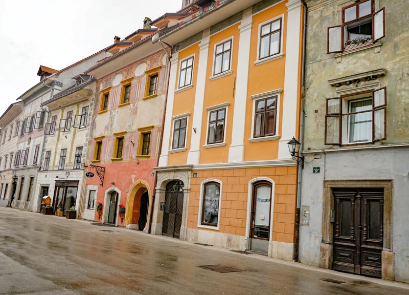 Colorful Mestni Trg Skofja Loka