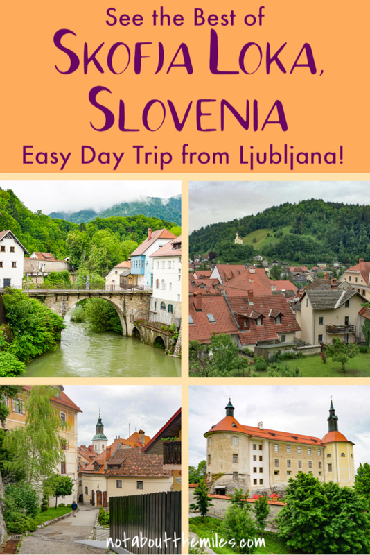 Discover the best things to do in Skofja Loka, Slovenia, an easy day trip from Ljubljana or Lake Bled! Enjoy views from Loka Castle and stroll the medieval town.