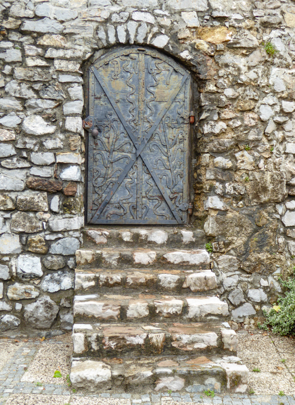 Door Skofja Loka Castle Grounds