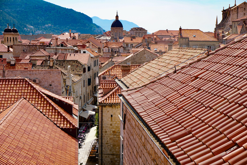 Dubrovnik Town Walls in Croatia