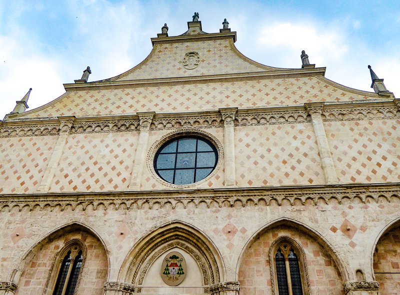 Facade Vicenza Cathedral Italy