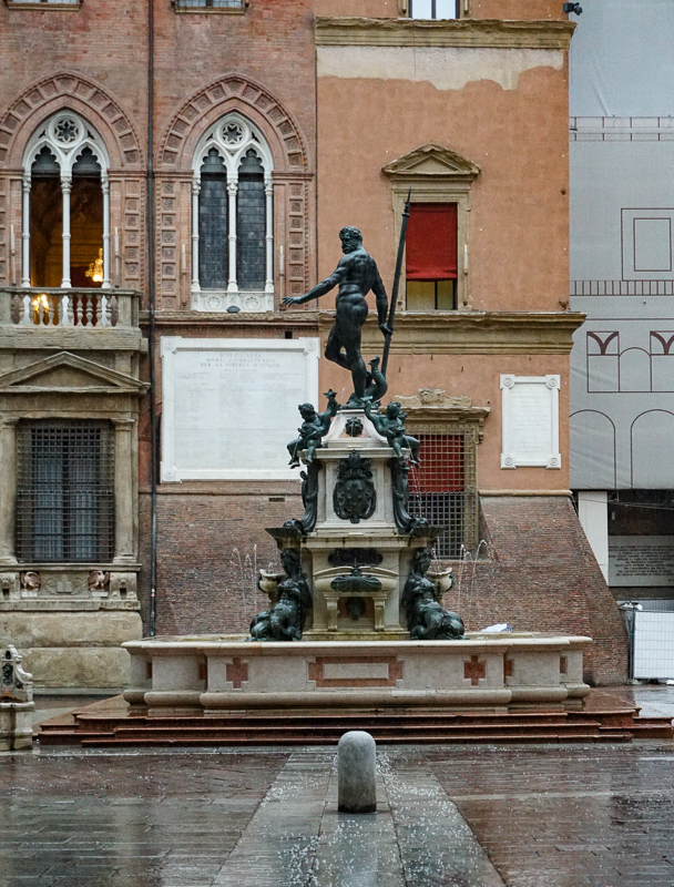 Fountain of Neptune Bologna Italy